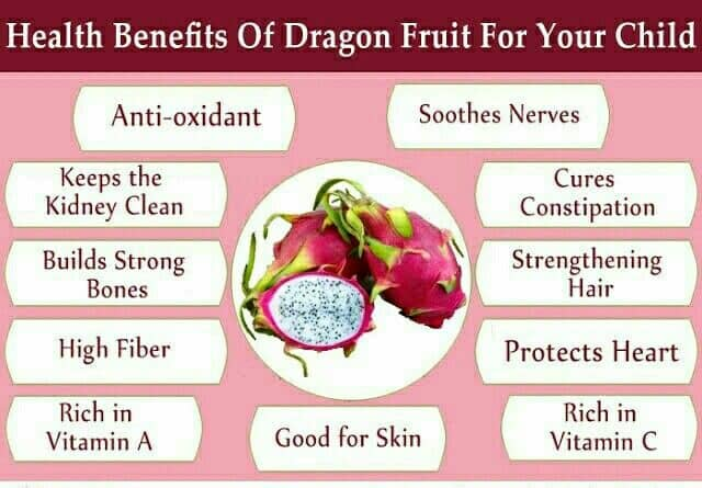 Incredible Health Benefits Of Dragon Fruit For Your Baby